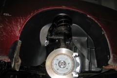 Подкрылок передний правый для Daewoo Nexia '95- (Novline)