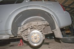 Подкрылок задний левый для Nissan Pathfinder '05-14 (Novline)