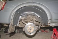 Подкрылок задний правый для Nissan Pathfinder '05-14 (Novline)