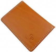 Обложка для прав/тех.паспорта светло-коричневая 201540