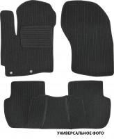 Коврики в салон для Volkswagen Crafter '06-16 текстильные, темно-серые (Корона)