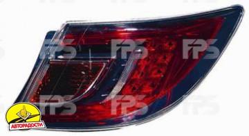 Фонарь задний для Mazda 6 '08-10 хетчбек/седан правый (DEPO) внешний, красный Led