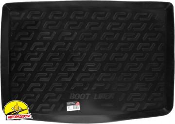 Коврик в багажник для Fiat 500L '13-, резино/пластиковый (Lada Locker)