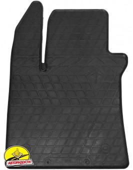 Коврики в салон для Renault Megane '16-, резиновые, черные (Evolution)