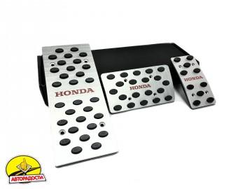 Накладки на педали Honda АКПП 3 шт. (J-tec)