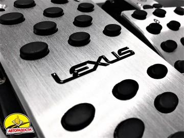 Накладки на педали Lexus АКПП 4 шт. (J-tec)