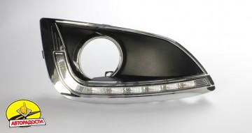 Дневные ходовые огни для Hyundai ix-35 '10-15 V2 (LED-DRL)
