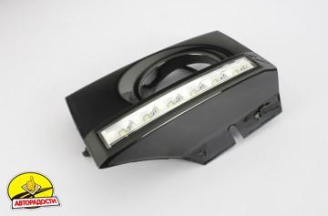 3 - Дневные ходовые огни для Hyundai Tucson '03-09 (LED-DRL)