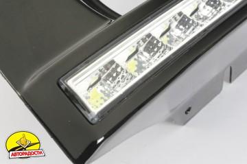 5 - Дневные ходовые огни для Hyundai Tucson '03-09 (LED-DRL)