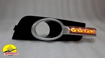 Дневные ходовые огни Ring на Chevrolet Cruze I (Хэтчбек) .