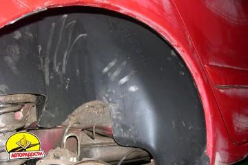 Подкрылок задний правый для Mitsubishi Lancer 9 '04-09 седан (Novline)