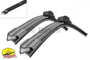 Щётки стеклоочистителя бескаркасные Bosch AeroTwin 600 и 550 мм. (к-кт) A 424 S