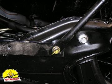 Защита картера двигателя и КПП, радиатора для Geely MK хетчбэк '06-, V-1,5, МКПП/сборка Украина (Кольчуга)