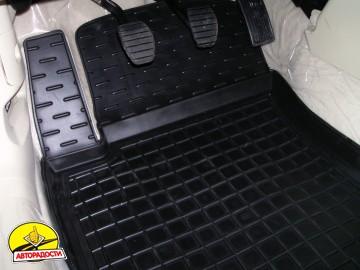 Коврики в салон для BYD G6 '11- резиновые, черные (AVTO-Gumm)