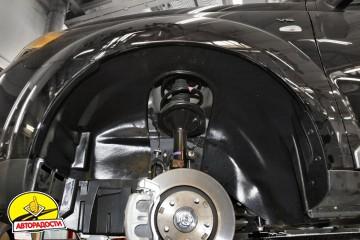 Подкрылок передний левый для Mitsubishi Outlander XL '07-12 (Novline)