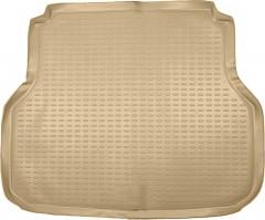 Фото 1 - Коврик в багажник для Chevrolet Lacetti '03-12 универсал, полиуретановый (Novline) бежевый