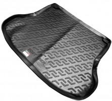 Фото 1 - Коврик в багажник для Nissan Tiida '05-14 седан, резиновый (Lada Locker)