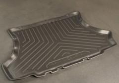 Коврик в багажник для Lada (Ваз) 2108-2109, 2113, 2114, полиуретановый (NorPlast) черный