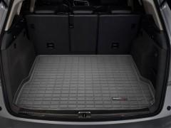 Коврик в багажник для Audi Q5 '08-17, резиновый (WeatherTech) черный