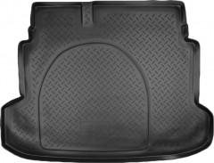 Коврик в багажник для Kia Cerato '09-13, полиуретановый (NorPlast) черный
