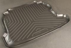 Коврик в багажник для Chevrolet Viva '04-11, полиуретановый (NorPlast) черный