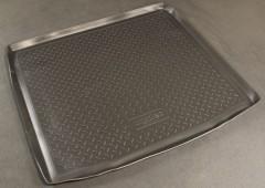 Коврик в багажник для Citroen C5 '08- универсал, полиуретановый (NorPlast) черный