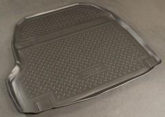 Коврик в багажник для Cadillac CTS II '07-, полиуретановый (NorPlast) черный