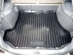 Коврик в багажник для Kia Shuma II '98-04, резино/пластиковый (Lada Locker)