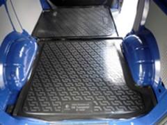 Коврик в багажник для Volkswagen Transporter T4 '90-03 (передний), резино/пластиковый (Lada Locker)