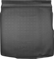 Коврик в багажник для Volkswagen Passat B8 '15- седан, полиуретановый (NorPlast) черный