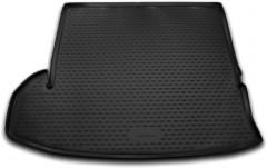 Коврик в багажник для Toyota Highlander '14-, длинный, полиуретановый (Novline) черный