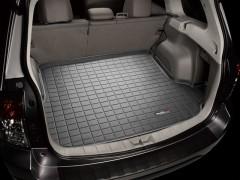 Коврик в багажник для Subaru Forester '08-12, резиновый (WeatherTech) черный