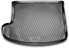 Коврик в багажник для Jeep Compass '11-, полиуретановый (Novline) черный