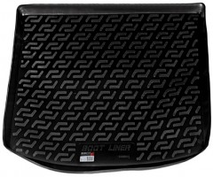 Коврик в багажник для Volkswagen Caddy '04-15, резино/пластиковый (Lada Locker)