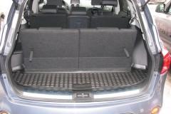 Коврик в багажник для Nissan Qashqai +2 '06-14 (короткий), полиуретановый (Novline) черный