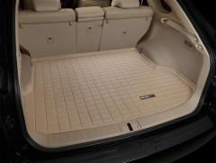 Коврик в багажник для Lexus RX '09-15 (амер. версия), резиновый (WeatherTech) бежевый