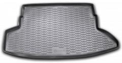 Коврик в багажник для Nissan Juke '11-14, полиуретановый (Novline) черный