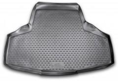 Коврик в багажник для Infiniti M (Q70) '11-, полиуретановый (Novline) черный