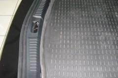 Фото 3 - Коврик в багажник для Ford Mondeo '07-14 хетчбэк, полиуретановый (Novline) черный EXP.NLC.16.18.B11