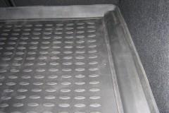 Фото 5 - Коврик в багажник для Ford Mondeo '07-14 хетчбэк, полиуретановый (Novline) черный EXP.NLC.16.18.B11