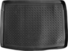 Коврик в багажник для Volkswagen Golf V '04-09 хетчбэк, полиуретановый (NorPlast) черный