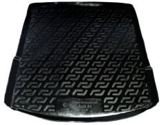 L.Locker Коврик в багажник для Audi A4 '00-08 седан, резино/пластиковый (Lada Locker)