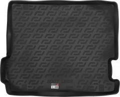 Коврик в багажник для BMW X3 F25 '10-17, резино/пластиковый (Lada Locker)