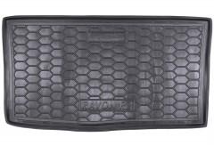 Коврик в багажник для Daewoo Ravon R2 '15-, резиновый (AVTO-Gumm)