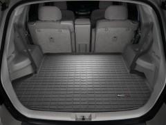 Коврик в багажник для Toyota Highlander '07-13, резиновый (WeatherTech) черный