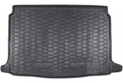 Коврик в багажник для Renault Megane '16-, хетчбэк, резиновый (AVTO-Gumm)