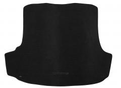 Коврик в багажник для Skoda Octavia A5 '05-13 лифтбэк, текстильный черный