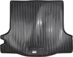 Коврик в багажник для Renault Logan '13- седан, резино/пластиковый (Lada Locker)