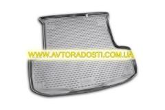 Коврик в багажник для Fiat Linea '07-15, полиуретановый (Novline) черный