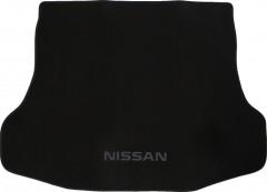 Коврик в багажник для Nissan Tiida '05-14 седан, текстильный черный